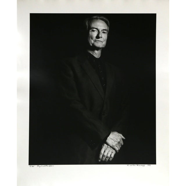 Roy Lichtenstein Photo Portrait by Curtis Knapp For Sale - Image 4 of 4