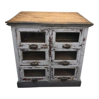 19th Century French Country Apothecary Counter For Sale