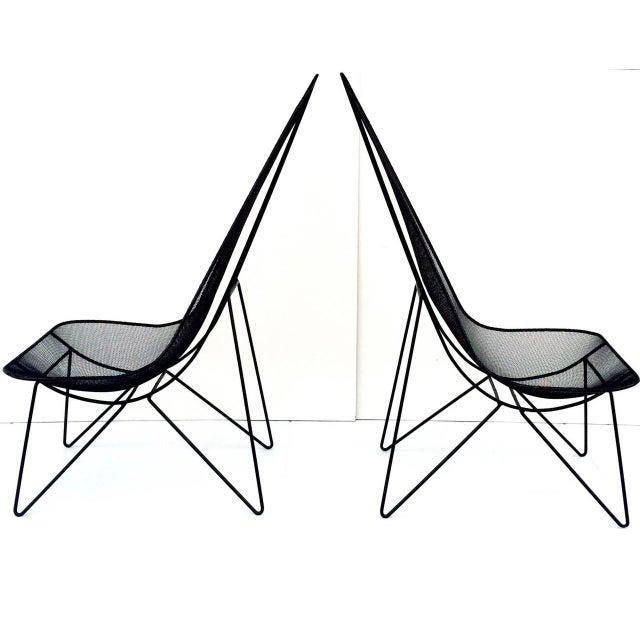 Pair of Sol Bloom Scoop Chairs - Image 3 of 10