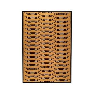 Tiger Stripe Cashmere Blanket, King For Sale