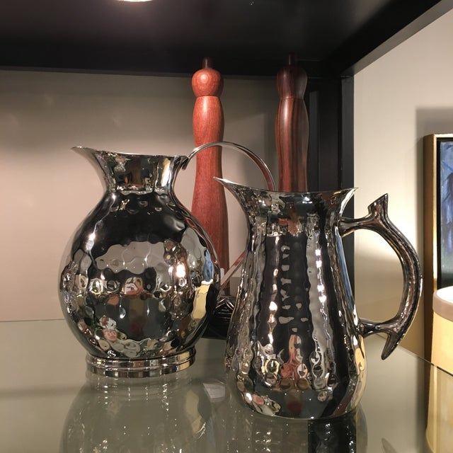 Hand-Hammered Water Pitcher - Image 4 of 4