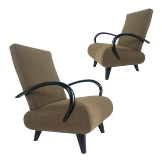 Sebastian Herkner for Wittmann Sculptural Lounge Chairs, Hard to Find - a Pair For Sale
