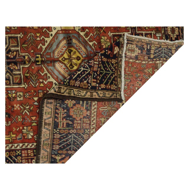 Vintage Persian Karaje Rug - 5.5 x 12.8 For Sale - Image 4 of 4