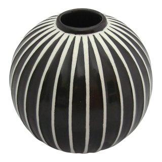 1950s Domino Vase by Stig Lindberg For Sale