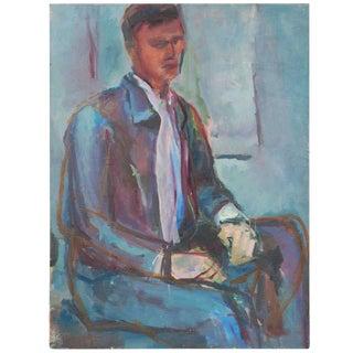 Portrait Painting, Circa 1960 For Sale
