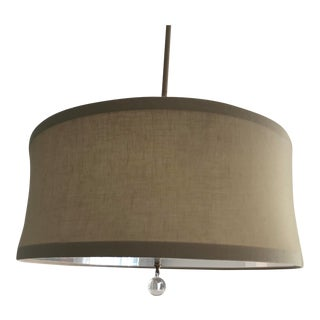 Contemporary Stonegate Designs Audrey Drum Pendant Light For Sale