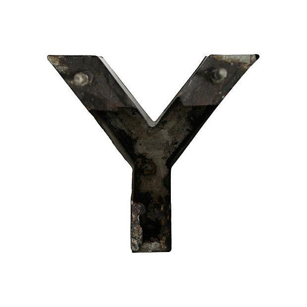 Stainless Steel Letter Y For Sale - Image 4 of 5