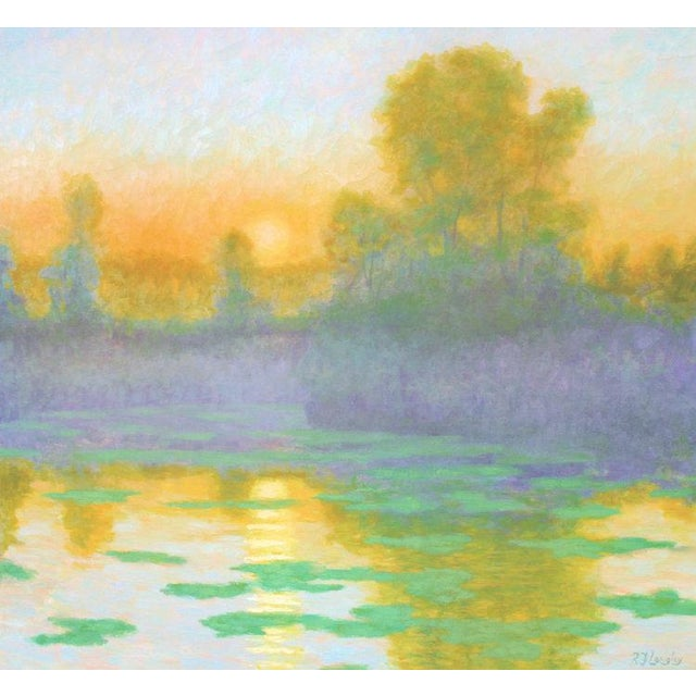 Canvas Rob Longley, Summer Sunrise, 2017 For Sale - Image 7 of 7