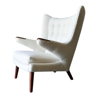 "1950s Hans Wegner Model Ap19 ""Papa Bear"" Chair For Sale"