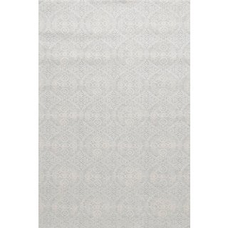 """Stark Studio Rugs Alessi Rug in Light Silver, 2'7"""" x 7'7"""" For Sale"""