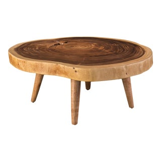 Thomas Coffee Table, Natural Chamcha For Sale