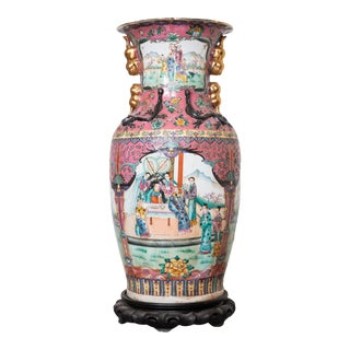 Large Antique Chinese Vases for the Floor Modern Decor Decorative Living Room For Sale