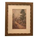 Image of Original Vintage Landscape Painting Signed c.a. Howard For Sale