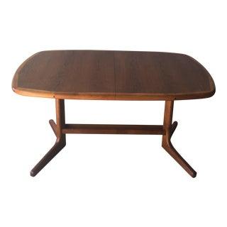 Vintage Mid-Century Modern Teak Dining Table