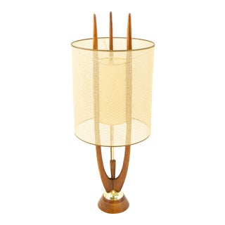 Adrian Pearsall Mid Century Modeline Table Lamp For Sale