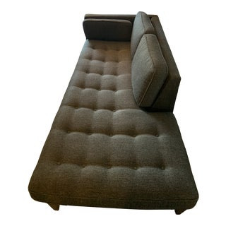 Room & Board Modern Custom Hutton Chaise Sofa For Sale