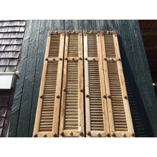Super, Vintage French Shutters Architectural Fragments Preview