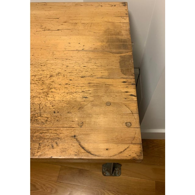 Industrial Lyon Aurora Ill Workbench For Sale In New York - Image 6 of 10