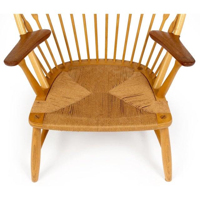 Wood Hans Wegner for Johannes Hansen 'Peacock Chair', ca. 1947 For Sale - Image 7 of 10