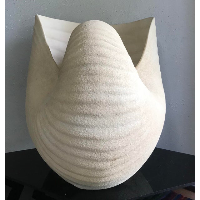 Giant Ceramic Nautilus Sea Shell Floor Vase For Sale In Portland, OR - Image 6 of 9