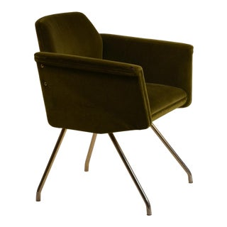 Chic French 50's 'Prisme' Armchair by Joseph-André Motte For Sale