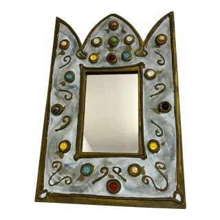 Decorative Crown Wall Mirror For Sale