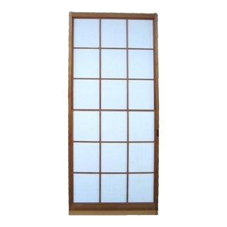 Japanese Sugi Yuki Shoji Cedar Snow Door For Sale