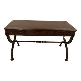 Regency Holland & Company X-Leg Writing Desk For Sale