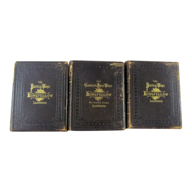 The Poetical Works of Henry Wadsworth Longfellow Illustrated For Sale