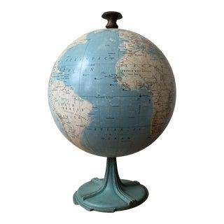 1965 Vintage Rand McNally Centennial Twelve Globe For Sale