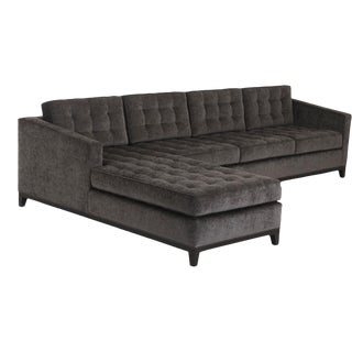 Modern Brown Eden Sectional For Sale