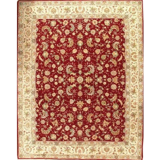 Sino Tabriz Hand-Knotted Rug-8′1'X10′2″ For Sale