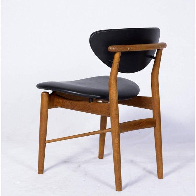 Finn Juhl Set of Six Finn Juhl NV 55 Dining Chairs For Sale - Image 4 of 10