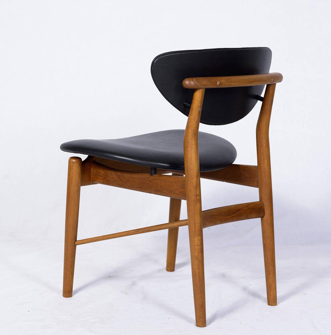 Set Of Six Finn Juhl NV 55 Dining Chairs   Image 4 Of 10