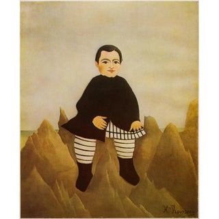 1966 Henri Rousseau, Child on the Rocks Lithograph From Milan For Sale