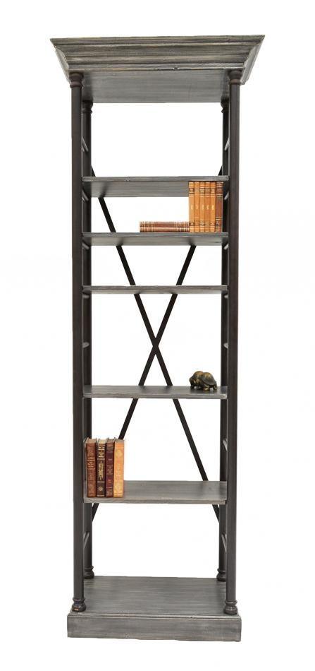 Sarreid Ltd Five Shelf Bookcase Chairish
