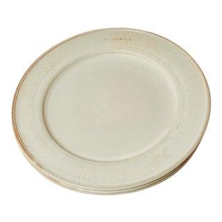 Handmade Dinner Plate from New York Stoneware For Sale