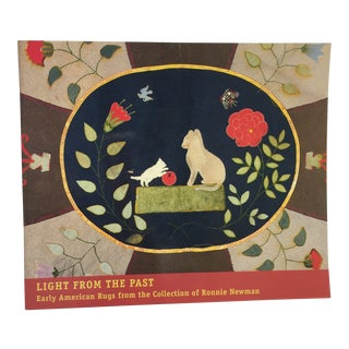 Light From the Past Early American Rugs Book For Sale