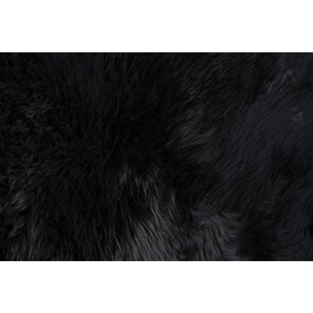Black New Zealand Sheepskin - 2' x 6' - Image 2 of 3