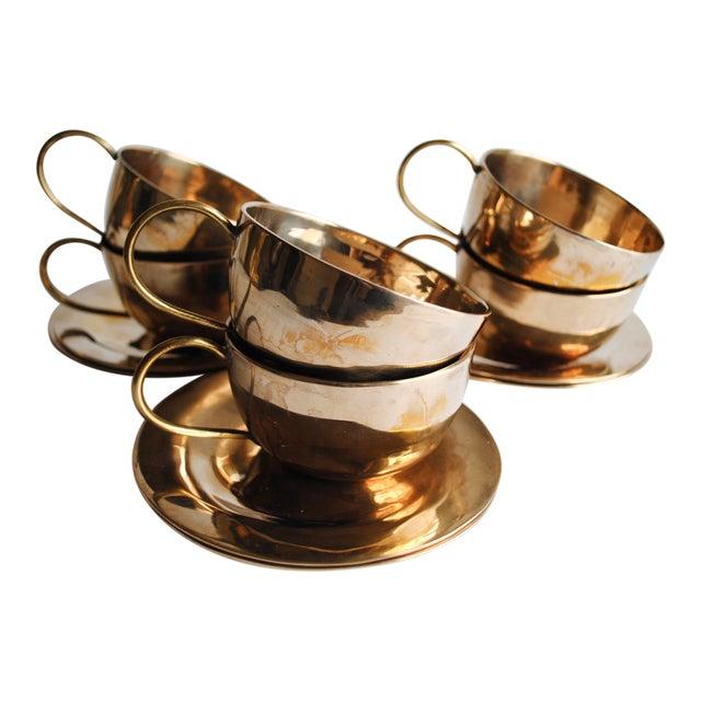 Vintage Cups & Saucers - Set of 6 - Image 1 of 5