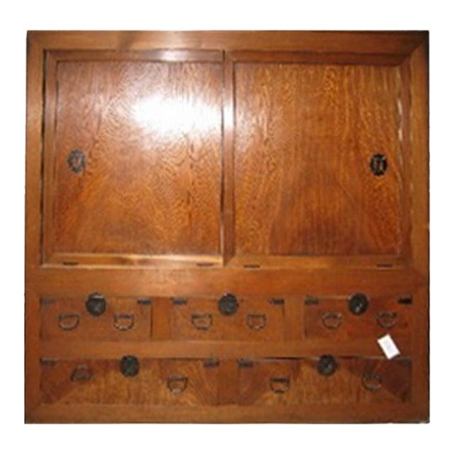 Antique Japanese Futon Dansu - Image 1 of 4