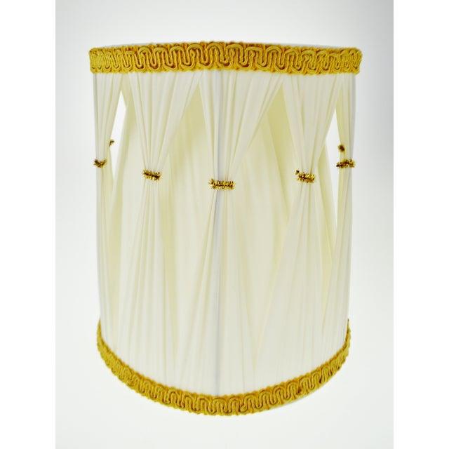 Vintage Hollywood Regency Drum Lamp Shades - A Pair - Image 5 of 6