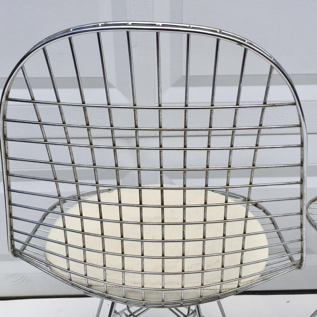 """Mid-Century Modern """"Eiffel"""" Style Chairs - Set of 3 For Sale In New York - Image 6 of 7"""