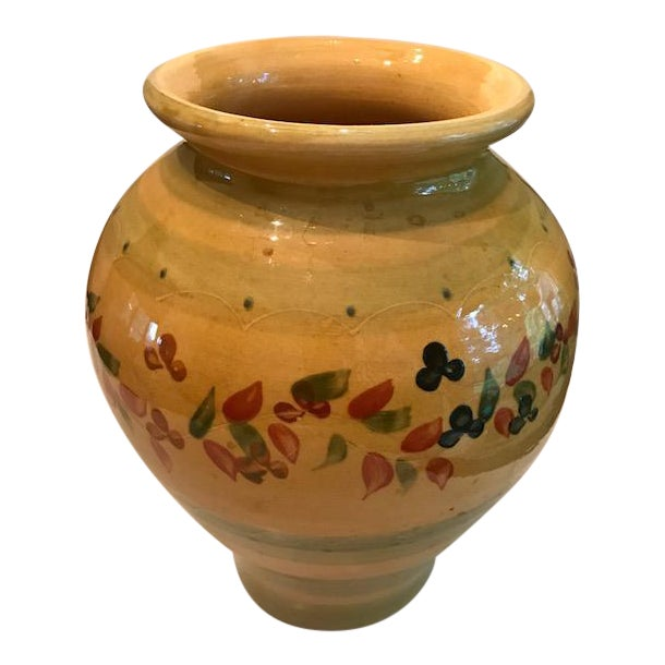 Rustic Handmade French Pot Vase - Image 1 of 8