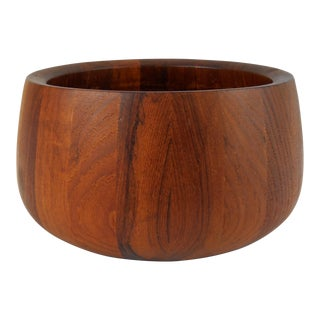 Dansk Quistgaard Teak Salad Bowl For Sale