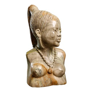 T. Matthew Woman in Thought Sculpture For Sale
