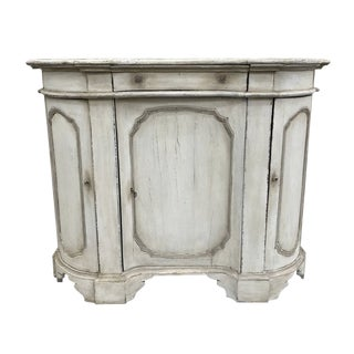 Italian Painted Console Sideboard - 19th C For Sale