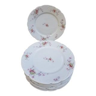 Victorian Haviland Limoges Dinner Plates - Service for 8 For Sale