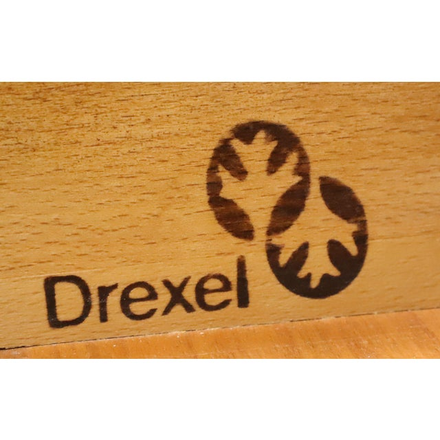Drexel Heritage Solid Cherry Queen Anne Console Table For Sale - Image 11 of 13