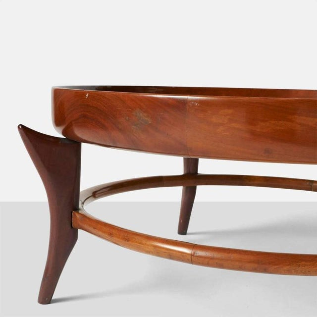1960s Giuseppe Scapinelli Maracana Coffee Table For Sale - Image 5 of 6